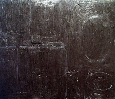 Black Interior  Art Print by Kazuya Akimoto