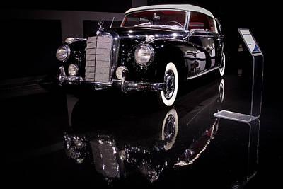 Photograph - Black Mercedes by David Coblitz