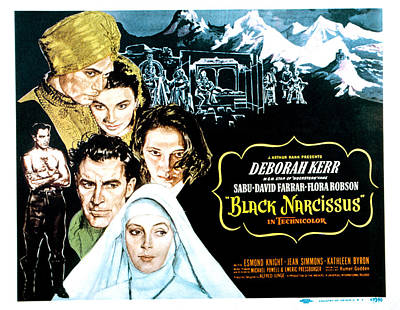 Black Narcissus, David Farrar, Sabu Art Print