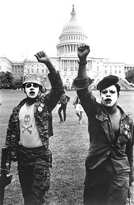 Black Panther Photograph - Black Panthers In Washington, Dc, 1967 by Everett