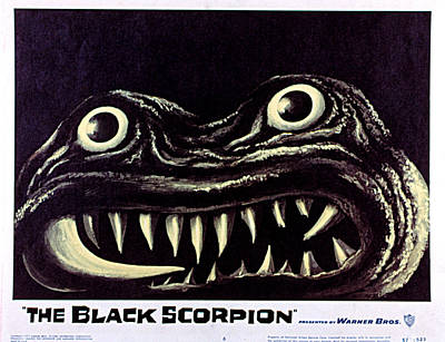 Black Scorpion, The, 1957 Art Print