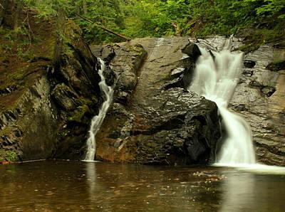 Photograph - Black Slate Falls by Matthew Winn