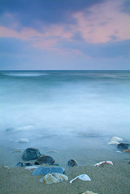Beach Photograph - Black Stones by Guido Montanes Castillo
