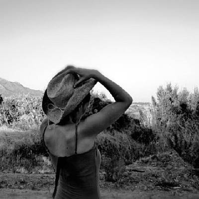 Sexy Photograph - #blackandwhite #girl #hat #nature by Torbjorn Schei