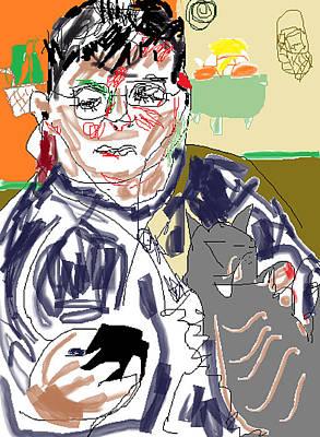 Drawing - Blackberry by Anita Dale Livaditis