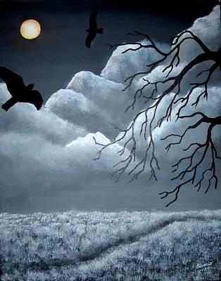 Blackbird Print by Edwin Alverio