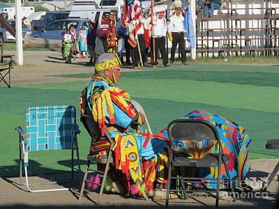 Photograph - Blackfeet Pow Wow 02 by Ausra Huntington nee Paulauskaite