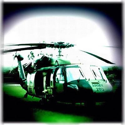 Helicopter Photograph - #blackhawk #heli #helicopter #sydney by Luke Fuda