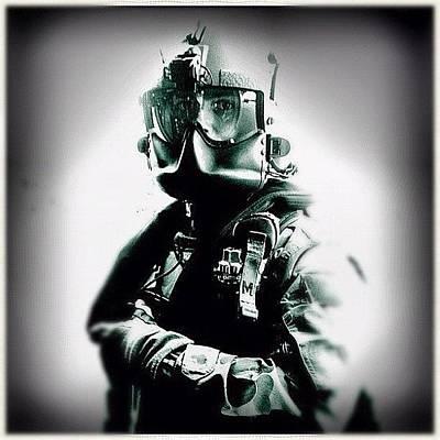 Helicopter Photograph - Blackhawk Pilot #blackhawk #heli by Luke Fuda