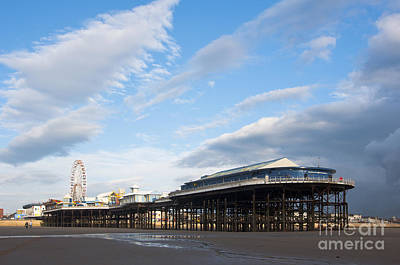 Blackpool Pier Art Print by Andrew  Michael