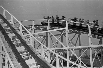 Rollercoaster Photograph - Blackpool Ride by Felix Man
