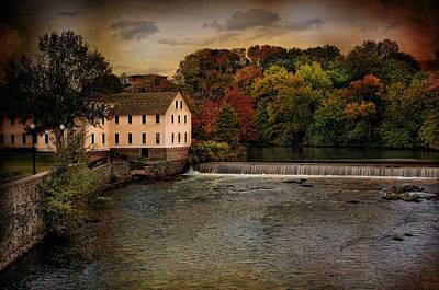 Blackstone River Mill Art Print