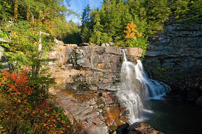 Photograph - Blackwater Falls by Steve Stuller
