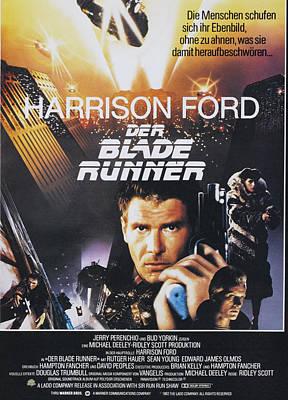 Blade Runner Photograph - Blade Runner, Aka Der Blade Runner, L-r by Everett