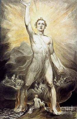 Photograph - Blake: Angel Of Revelation by Granger