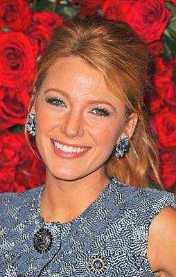 Blake Lively At Arrivals For Momas 4th Art Print by Everett