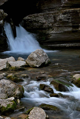 Jeka World Photograph - Blanchard Springs by Jeff Rose