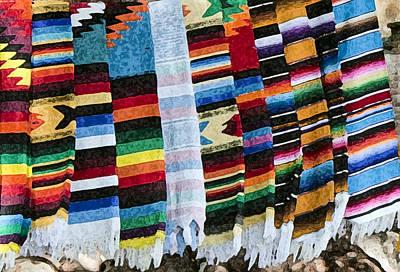Blanket Weave Art Print