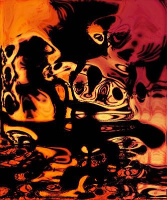 Digital Art - Blasphemy Swirls by Paulo Guimaraes