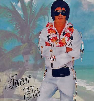Elvis Impersonators Photograph - Blast From The Past by Randy Rosenberger