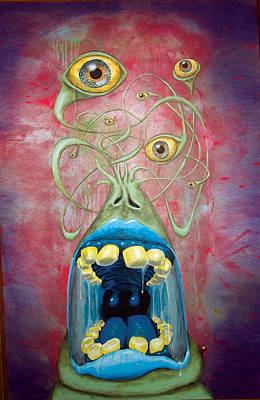 Blaurgh Original by Bili Kribbs