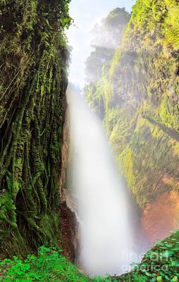 Jawa Photograph - Blawan Waterfall by MotHaiBaPhoto Prints