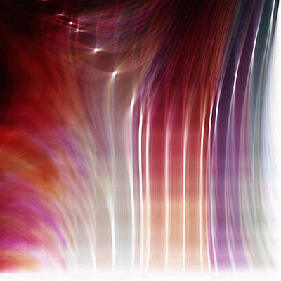 Luminescent Digital Art - Blessed by Bonnie Bruno