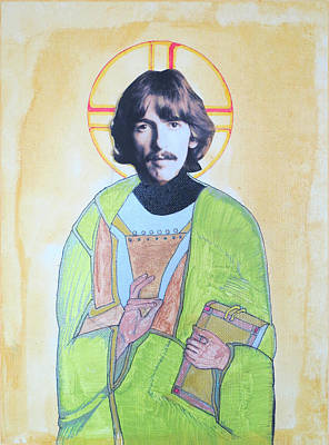 Blessed George Art Print by Philip Atkinson