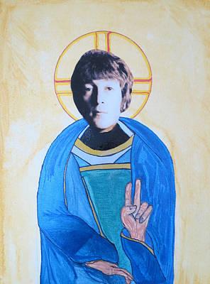 Blessed John Art Print by Philip Atkinson