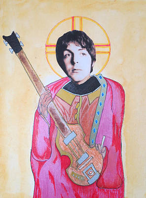 Byzantine Mixed Media - Blessed Paul by Philip Atkinson