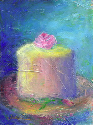 Cupcake Painting - Blessings For Tommorow by Jeannine Luke