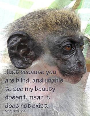 Blind Beauty Art Print by Ian  MacDonald