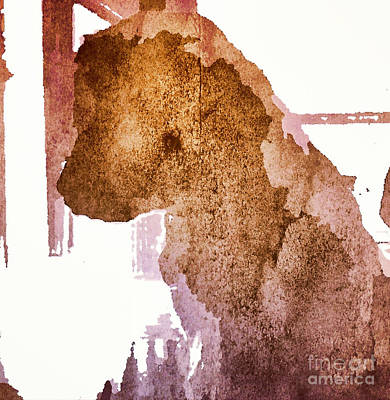 Blind Dog Winston Art Print by Christine Segalas