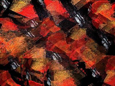 Bonding Painting - Blind Love Slaves by Paula Andrea Pyle