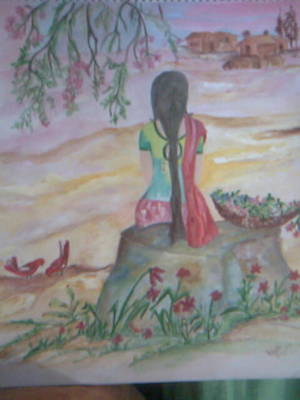 Painting - Bliss by Seema Sharma