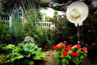 Blissful Garden Art Print by Trudy Wilkerson