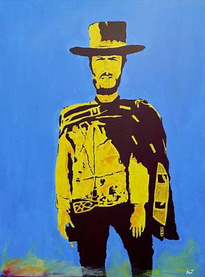 Clint Eastwood Art Painting - Blondie Pop Art by Austin James