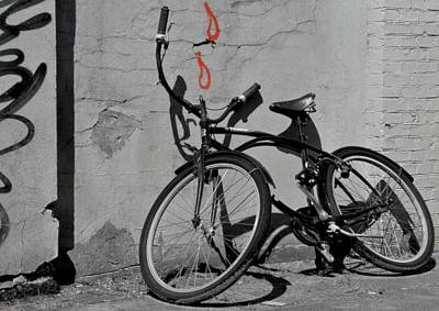 Bicycle Photograph - Blood Sweat And Wheels by Odd Jeppesen