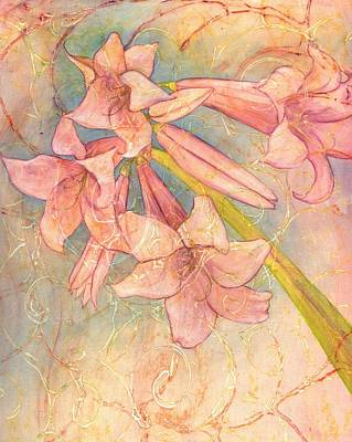 Blooming Above Art Print by Sara Bell