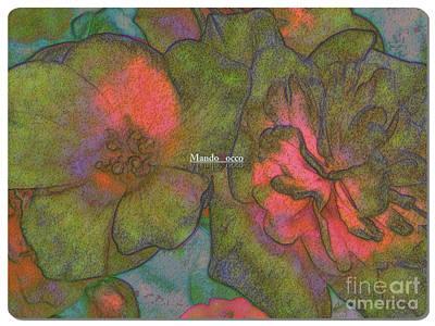 Blooms Line Art Print
