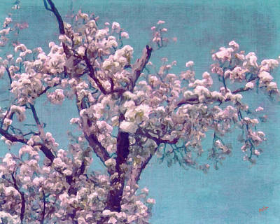 Briex Painting - Blossem by Nop Briex