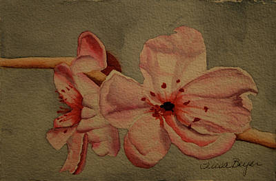 Art Print featuring the painting Blossom II by Teresa Beyer