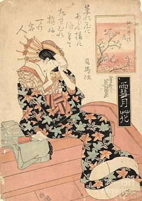 Blossom Of Nakanocho Art Print by Padre Art