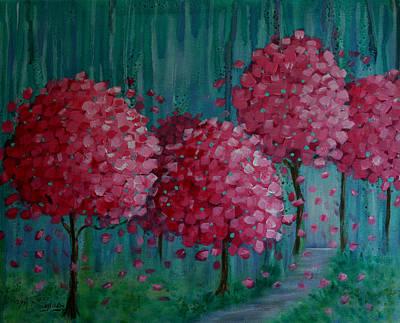 Blossoms Art Print by Melodie Douglas