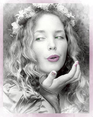 Photograph - Blowing Kisses by Diana Haronis