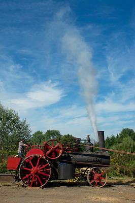 Blowing Off A Little Steam Art Print by Mark Dodd