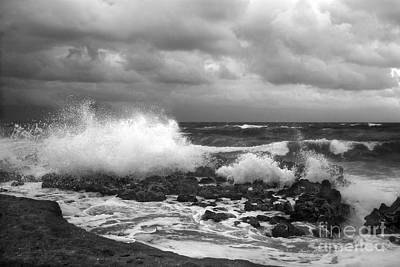 Photograph - Blowing Rocks by Richard Nickson