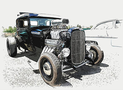 Blown Coupe Art Print by Steve McKinzie