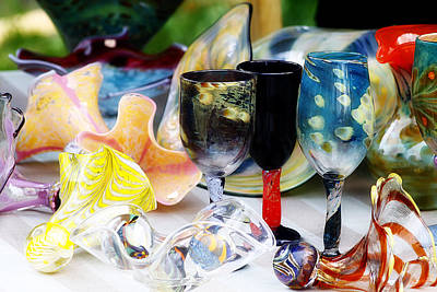 Photograph - Blown Glass by Scott Hovind