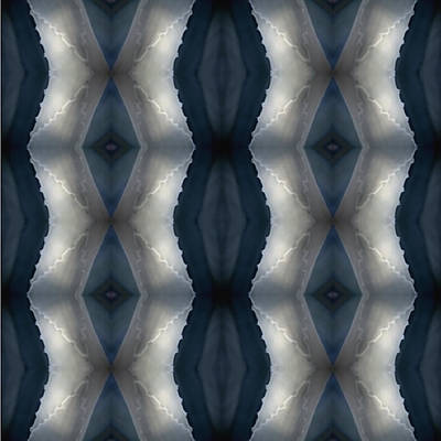 Abstract Realism Digital Art - Blue Agave Abstract II by Glennis Siverson